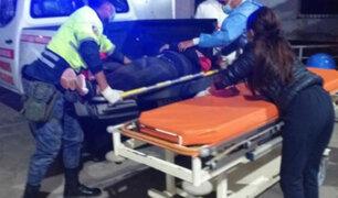 Chimbote: choque entre auto colectivo y volquete deja tres muertos y un herido grave