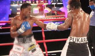 Box: Peruanos ganaron los cinturones bolivarianos AMB