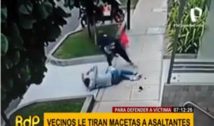 Miraflores: buscan identificar a sospechosos de violento asalto a madre e hija