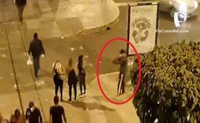 SJM: sujeto dispara a mujer por presunto cobro de cupos en red de prostitución