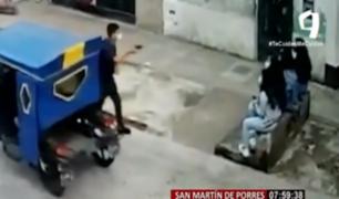 SMP: buscan a sujetos que asaltan niños en jirón Puno