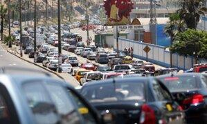 Costa Verde: modifican horario de restricción vehicular durante los domingos