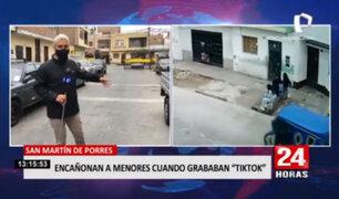 Delincuentes disparan al aire para robar a menores luego de grabar 'TikTok'