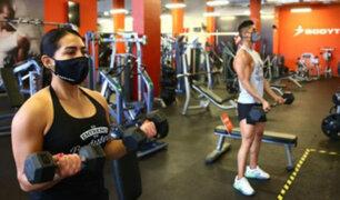 Produce: gimnasios evalúan que se permita entrenar como máximo por una hora
