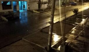 Inusual lluvia sorprende a residentes de varios distritos de Lima