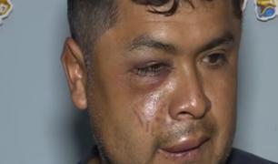 VMT: hombre fue salvajemente agredido por extranjeros tras defender a su amigo en una pelea