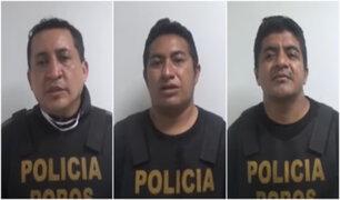 """Los Olivos: Capturan a """"Los Lanzas del Tahuantinsuyo"""", banda dedicada al robo de celulares"""