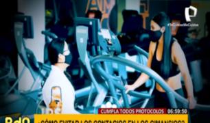 ¿Cómo prevenir el contagio del COVID-19 en los gimnasios?