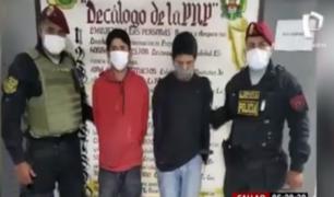 Callao: caen delincuentes que golpearon a embarazada por un celular