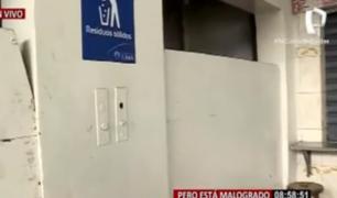 El ascensor del Mercado Central: un monumento al olvido que pondría orden en medio del caos