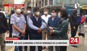 Alcalde de La Victoria solicita 300 policías en el emporio de Gamarra tras presencia de mafias