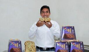 Ingeniero ayacuchano presentó panetones antianemia