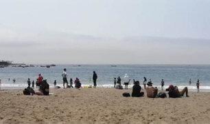 Decenas de familias acudieron a las playas de la Costa Verde durante el feriado
