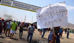 Ica: empresas estarían tomando represalias contra trabajadores que participaron en protestas