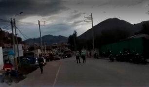 Huánuco: agricultores de papa bloquearon el kilómetro 410 de la Carretera Central