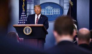 Donald Trump reconoció que su mandato ha terminado y promete 'transición ordenada'