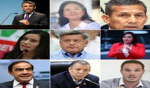 Elecciones 2021: Hoy se conocerá lista definitiva de candidatos presidenciales