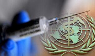 OMS afirmó que todos accederán a la vacuna contra COVID-19