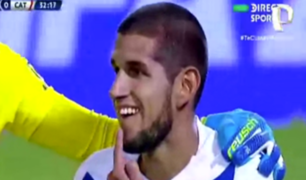 Copa Sudamericana: así fue el codazo que le costó un diente a Luis Abram