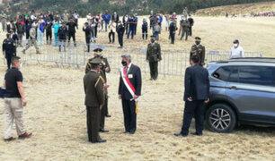 Alcalde de Luricocha a Sagasti: hemos esperado un mensaje de aliento, pero con presupuesto