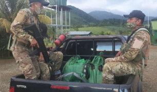 Vraem: capturan a presunto narcotraficante con 300 kilos de droga tras enfrentamiento