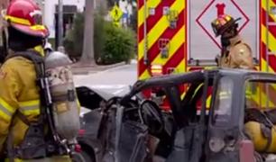 Cercado de Lima: se registró aparatoso accidente de tránsito en Santa Beatriz