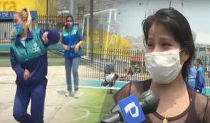 Reabren centros deportivos de la Municipalidad de Lima