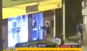 Los Olivos: banda de menores que robó minimarket quedó a disposición de la físcalía
