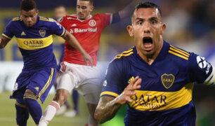 Boca Juniors eliminó al Inter y clasificó a cuartos de la Copa Libertadores