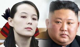 Hermana de Kim Jong-un lanza amenaza contra Corea del Sur