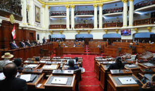 Inmunidad parlamentaria: Pleno del Congreso debate su eliminación