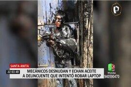 Santa Anita: mecánico golpeó a ladrón tras intento de robo