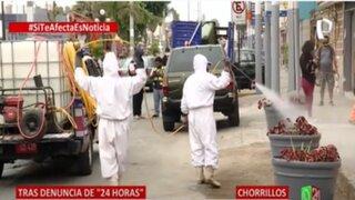 Chorrillos: Municipio retira contenedores de basura y limpia calle tras denuncia de Panamericana TV