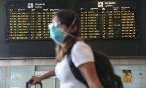 Jorge Chávez: continúan acatando protocolos tras cancelación de vuelos de Reino Unido