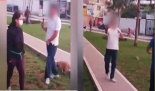 San Miguel: Sujeto insulta y amenaza de muerte a vecinos que ingresan a parque con mascotas