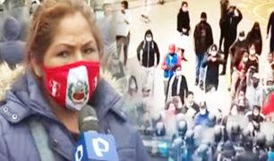 Ambulantes lotizan 3 cuadras en los exteriores de Gamarra