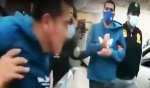 Capturan a vendedor de droga en Chorrillos