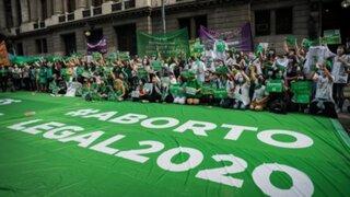 Argentina: Diputados aprueban la legalización del aborto