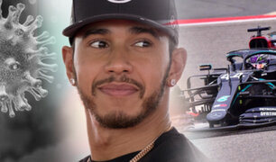 Lewis Hamilton superó el COVID-19