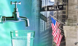 El agua empieza a cotizar en el mercado de Wall Street