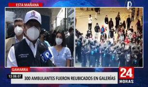 En camino a la formalización: alcalde de La Victoria reubica a 300 ambulantes en galerías