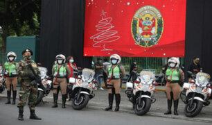 Navidad y Año Nuevo 2020: desplegarán más de 10 mil policías en distintos puntos de Lima