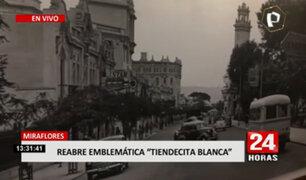 """Miraflores: """"Tiendecita Blanca"""" reabre sus puertas tras permanecer cerrado por COVID-19"""
