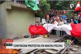 Cusco: Continúan protestas en Machu Picchu