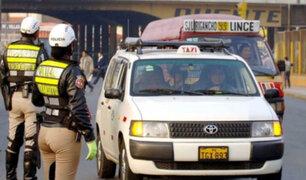 Parlamento aprobó por insistencia formalizar transporte interprovincial de taxis colectivo