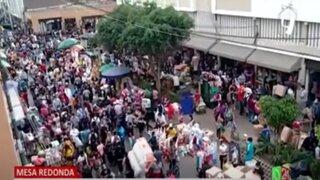 Centro de Lima: Ambulantes se resisten a retirarse de Mesa Redonda