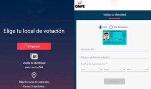 Elecciones 2021: elige AQUÍ el local de votación más cercano a tu domicilio