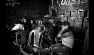 """Puno: rondas campesinas castigan a """"damas de compañía"""" por trabajar durante toque de queda"""