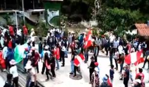 Continúa protesta en Machu Picchu y servicio ferroviario está suspendido hasta nuevo aviso