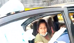 Mujer da a luz en la Carretera Ramiro Prialé mientras se dirigía al hospital